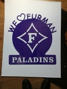 Furman I love Paladins